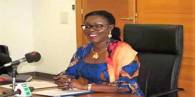 Mrs Ursula Owusu-Ekuful, Minister of Communications