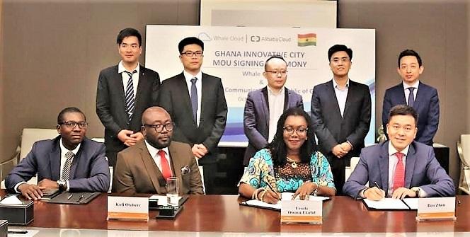 Whale Cloud and Alibaba Partner Ghana on Innovative City Development