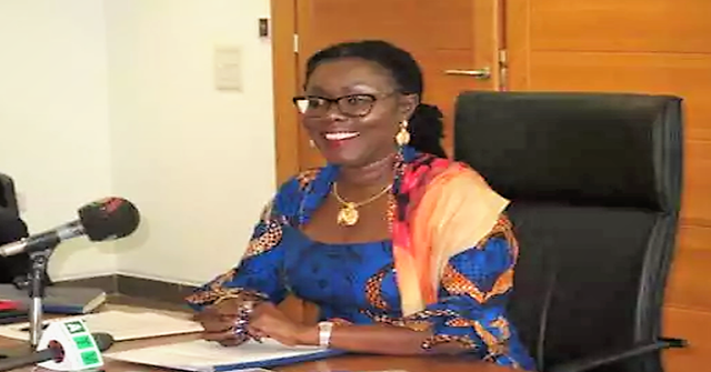 Mrs Ursula Owusu-Ekuful, Minister of Communications