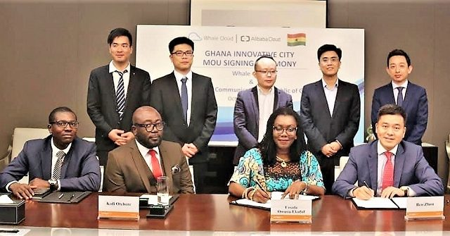 Whale Cloud and Alibaba Partner Ghana on Innovative City Development